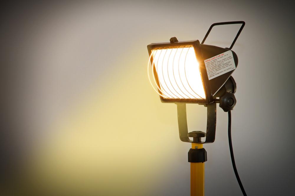 bouwlamp op LED